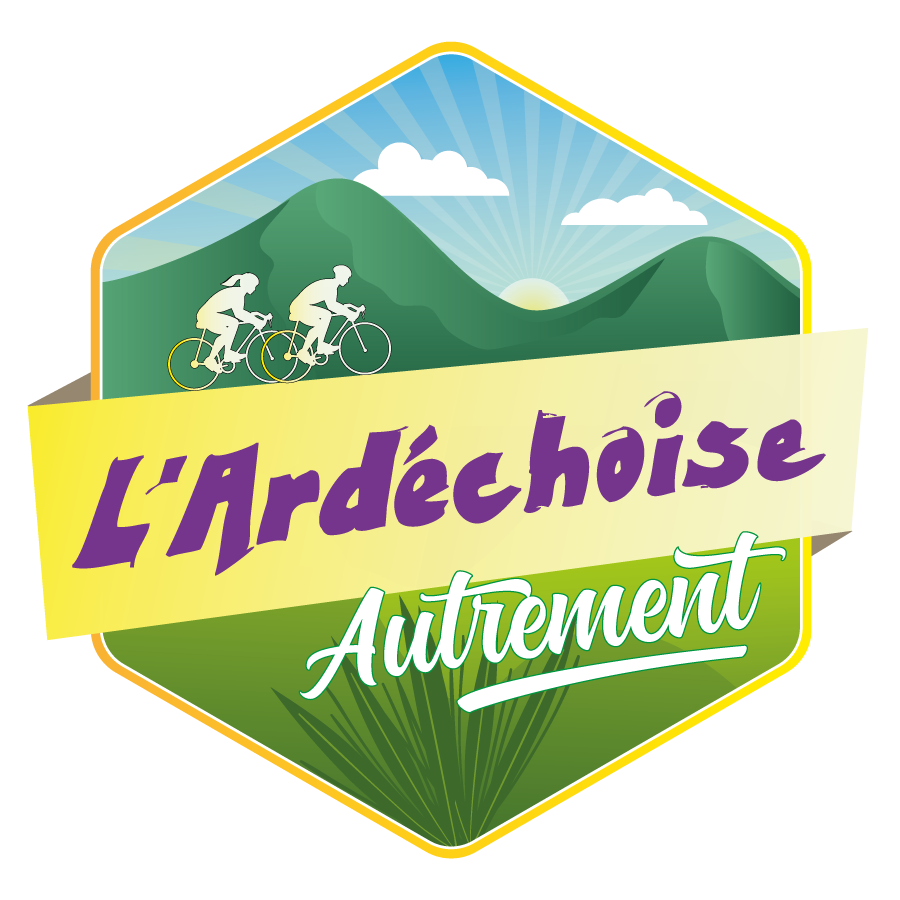 Logo de l'Ardéchoise Autrement - organisation de séjours vélo en Ardèche et Haute-Loire