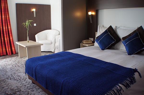 chambre hôtel la Siesta à Davézieux - votre hébergement pour le séjour vélo Pilat