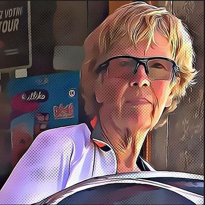 portrait Gretel - coordinatrice séjours vélo ardéchoise autrement