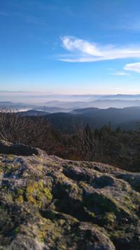 panorama depuis le sommet du Mont Pilat